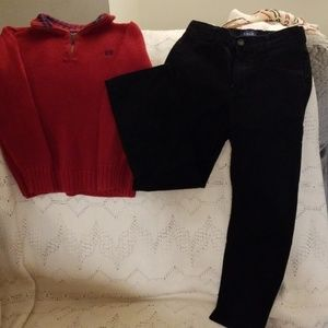 Set- sweater and pants/ CHAPS